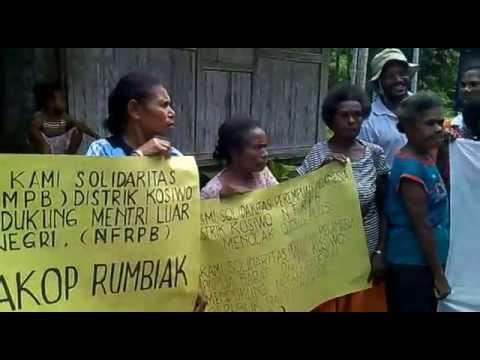 WPNA : Pernyataan Solidaritas Perempuan Melenesia Melanesia Papua Barat 11 Juli 2013 di Yapen