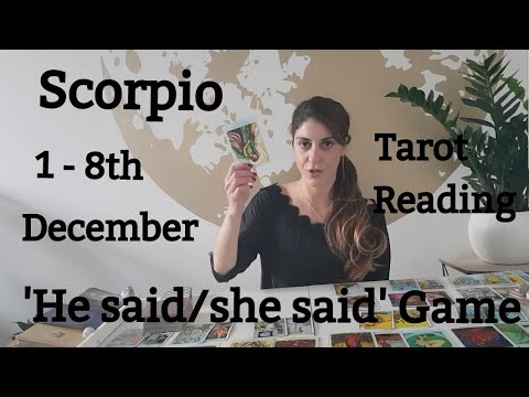 SCORPIO - WILL YOU RECONCILE WITH YOUR SOULMATE? IT'S UP TO YOU! 1 - 8th December Love Tarot Reading