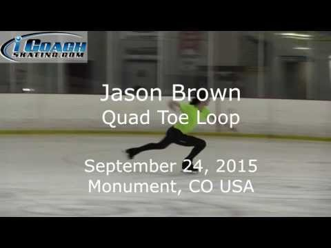 Jason Brown - Quad Toe Loop