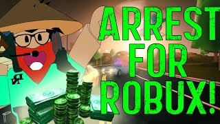 🤑 ARREST ME AND GET FREE ROBUX!! 🤑 JAILBREAK GAMEPLAY 🔴ROBLOX Live🔴