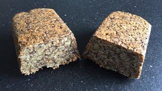 Low Carb Brot  | Körnerbrot | in zwei Minuten zubereitet | Lehrerschmidt