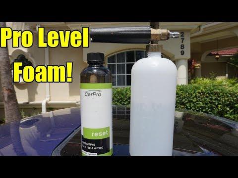 Carpro Reset Foam Cannon Test! Will it foam?