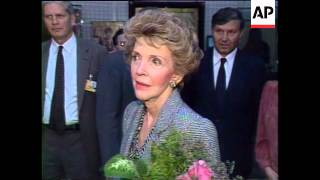 Reagans And Gorbachevs Attend Bolshoi Ballet, Nancy Talks About Moscow Trip, Reagans Depart From Mos