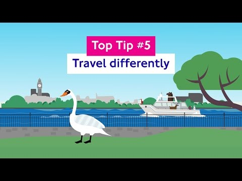 Top tip #5: Travel differently
