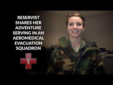 Aeromedical Evacuation Member Shares Her Adventure