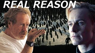 Ridley Scott Tells The REAL REASON Why David Killed Engineers || Alien Covenant thumbnail