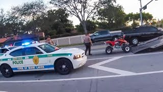 EPIC POLICE CHASE   FAILED GET AWAY   POLICE vs BIKERS    [Ep. 54]