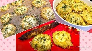 Натёртый Картофель под Сыром в Духовке Как Гарнир так и самостоятельное Блюдо Cheese Potato