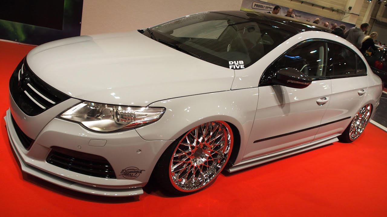 volkswagen passat cc 1 8t highline tuning at essen. Black Bedroom Furniture Sets. Home Design Ideas