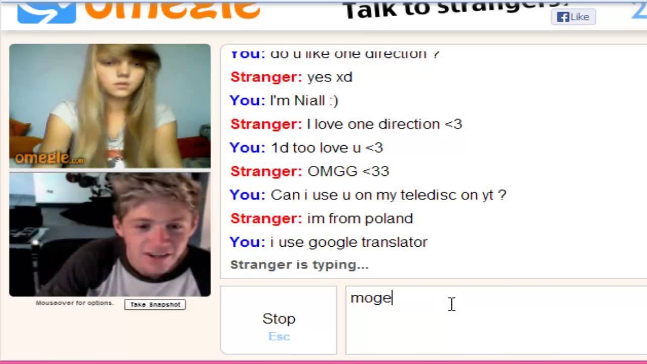 Omegle nude game