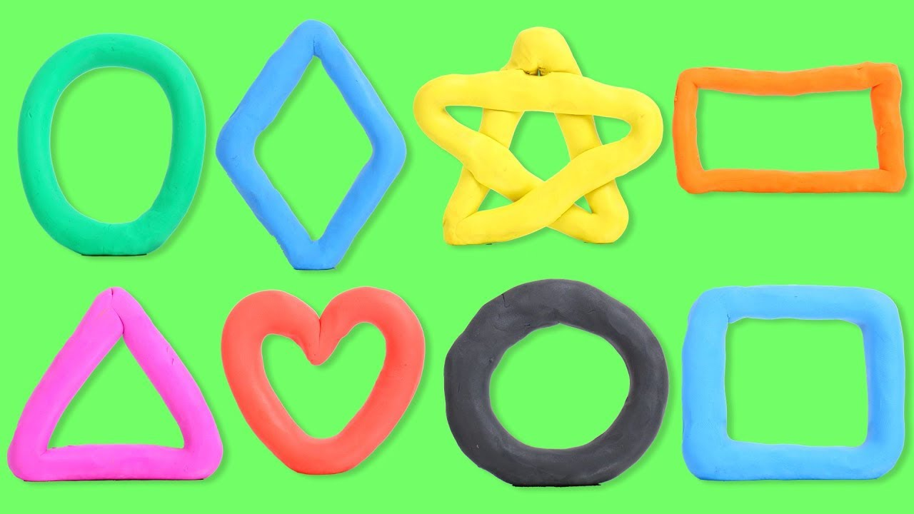 Shapes | Shapes Song | Learn Shapes with Play Doh | Play Doh Shapes ...