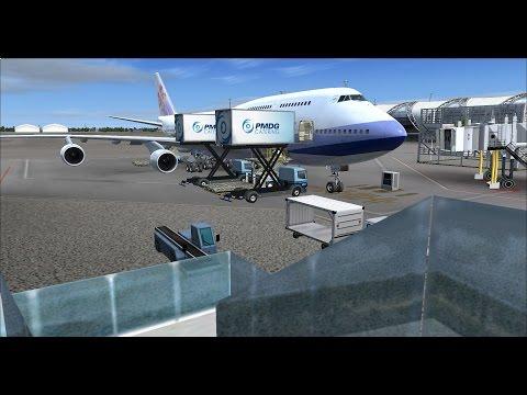 FSX | FSCloud | VTBS (Bangkok) - RCTP (Taipei) - EDDL (Dusseldorf) | Boeing 747-400 Part 1