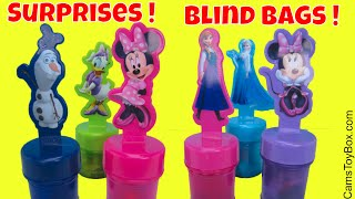 Toys Blind bags Opening Trolls Series 3 4 Disney Cars 3 Marvel Ooshies Littlest Pet Shop Transformer