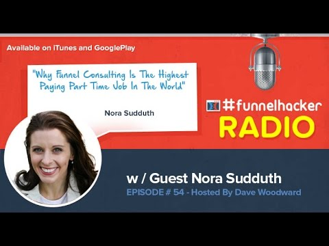nora sudduth why funnel consulting is the highest paying part time job in the world