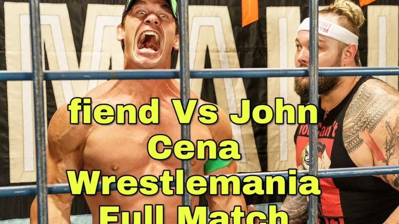 Download John Cena VS The Fiend Bray Wyatt Wrestlemania 36 Full Match 2020