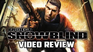 Project Snowblind Review (Underrated Cyberpunk FPS) - Gggmanlives