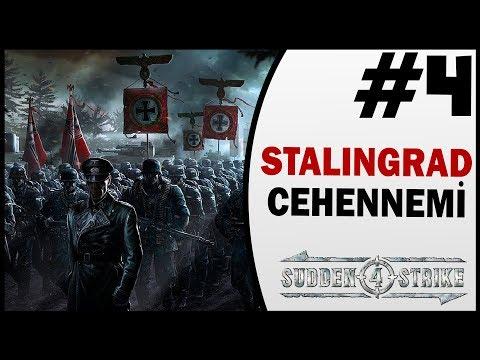 Stalingrad Cehennemi - 4.Bölüm - Sudden Strike 4 Türkçe 2.Dünya Savaşı