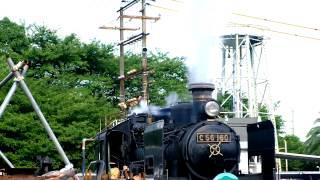 梅小路蒸気機関車館 平成27年8月7日.