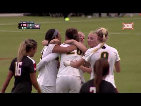 2018 Soccer Championship - Texas Tech Vs Baylor Soccer Highlights
