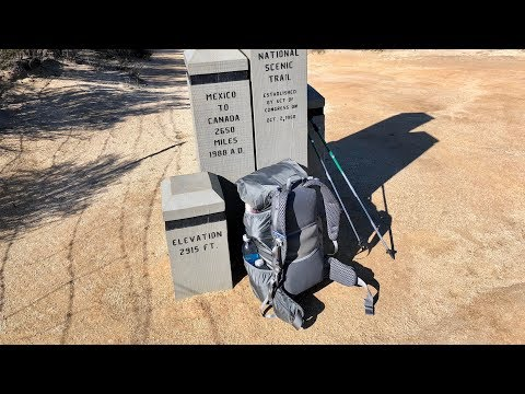 PCT Desert: What to expect when you hit the trail at Campo & tips to make it easier