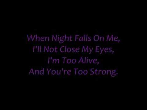 October~Evanescence (lyrics) - YouTube