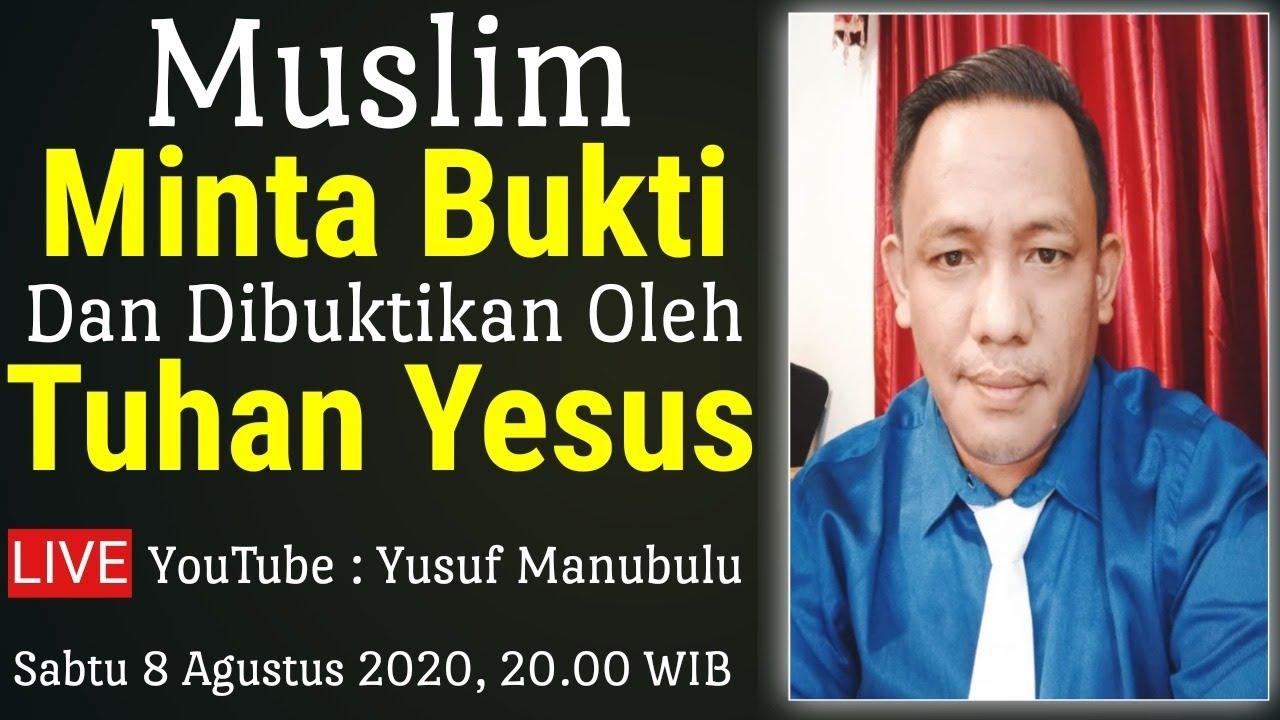 Muslim Minta Bukti 'Dan di Buktikan oleh Tuhan Yesus' - Jamal Dodi