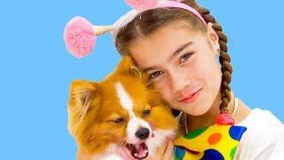 Nastya spielt mit Freunden igryushki Video für Kinder