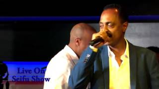Wendimu Jirra live on seifu show - Alech And Bota