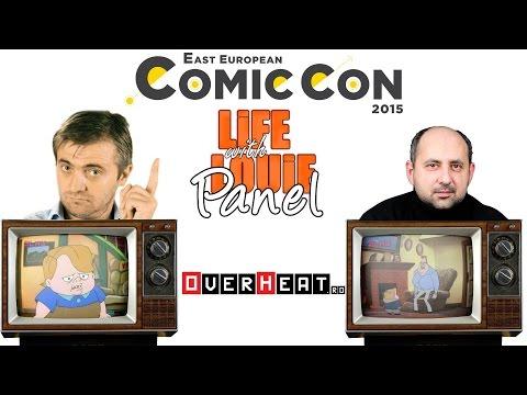 East European Comic Con 2015 - Reuniune Viata cu Louie