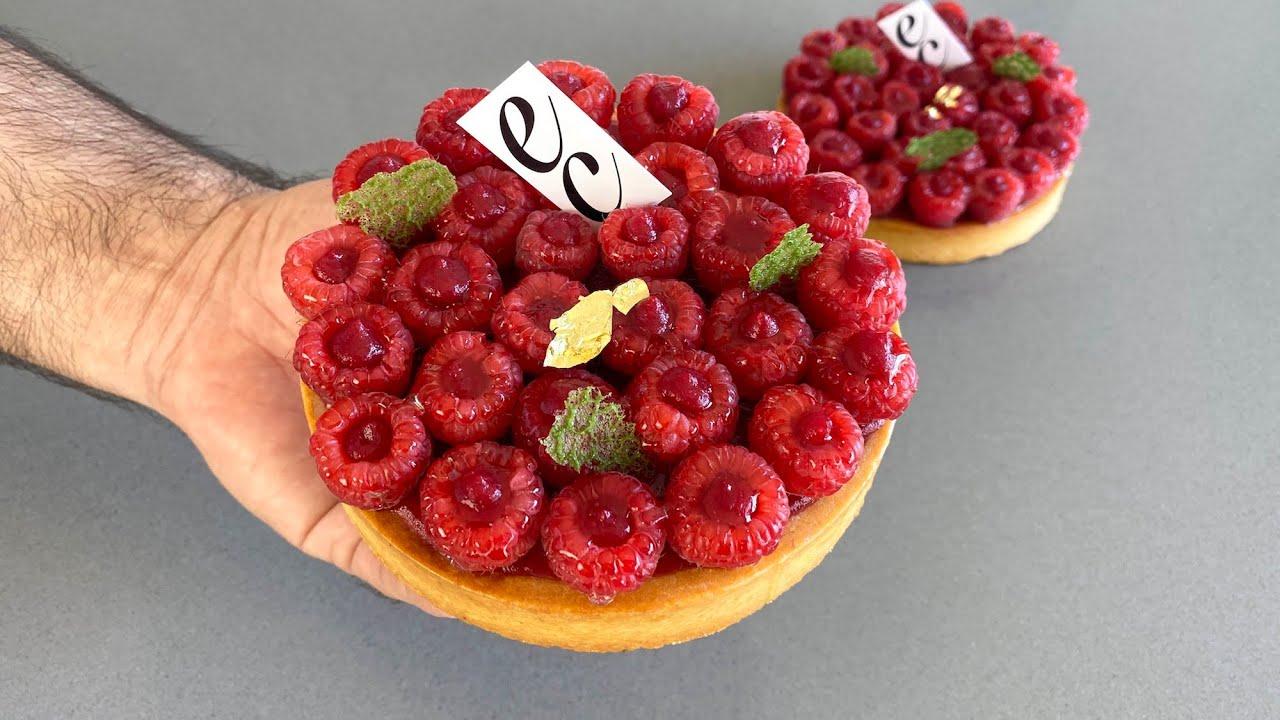 Tartaleta de Frambuesa y Crema de Mascarpone. / Raspberry Tart and Mascarpone Cream