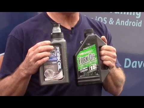 Ask Dave: Fork Oil Viscosity