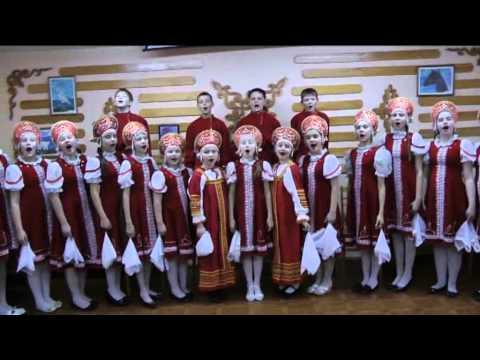 «Синеглазая Россияночка». Хор русской песни «Ангарский голосок»