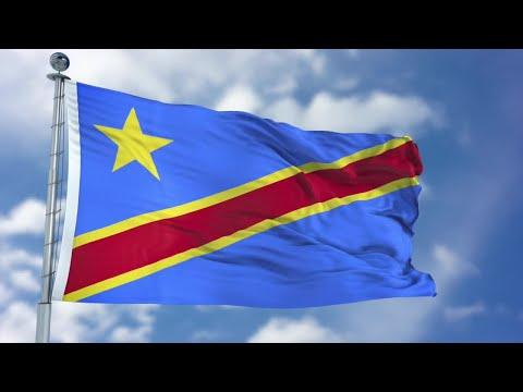 Democratic Republic Of Congo Flag Animation Stock Motion Graphics