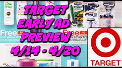 TARGET AD PREVIEW 4/14 - 4/20   GIFT CARD PROMOS ON SHAVE & ORAL CARE