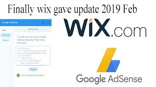 How to add google adsense to your wix website- 2019 feb edition