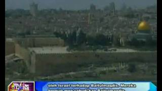 Israeli regime tries intending Judaism to the Jerusalem (Malay News 19/7/10)
