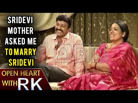 Thumbnail: Sridevi Mother Asked Me To Marry Sridevi | Open Heart With RK | ABN Telugu