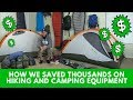How We Saved Thousands on Hiking and Camping Equipment