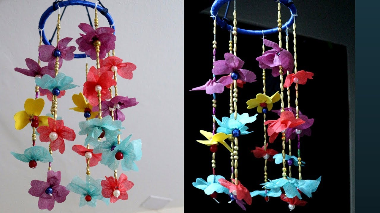 Brilliant Marvelous Ping Bag Wind Chimes Ideas Making Out Recycled Materials