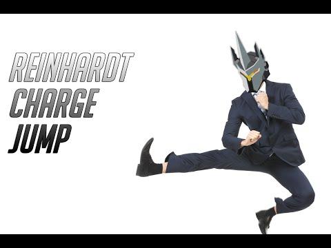 Overwatch - Reinhardt Charge Jump
