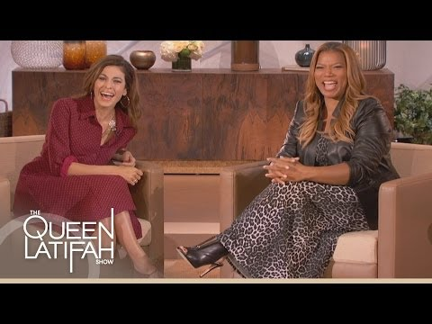 Eva Mendes Meets Queen Latifah's Dad on The Queen Latifah