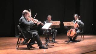 Iwan Muller - Quartet n.1 for clarinet and string trio - 3. Polonaise