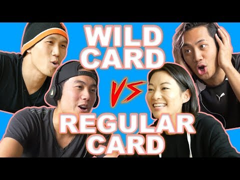 RYAN & ARDEN CHO WHISPER CHALLENGE VS WILD CARD
