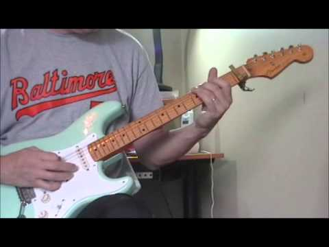 Classic Blues Guitar Licks #6 Johnny Guitar Watson Pt  1