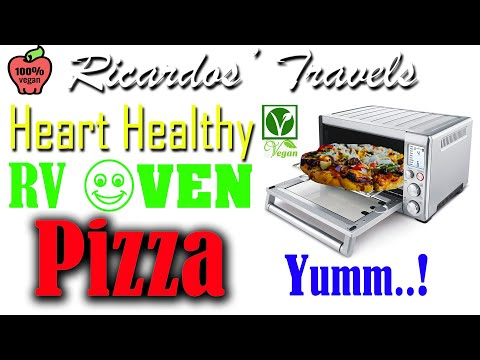 baking-with-the-portable-rv-convection-oven-by-breville-and-a-yummy-heart-healthy-pizza-recipe