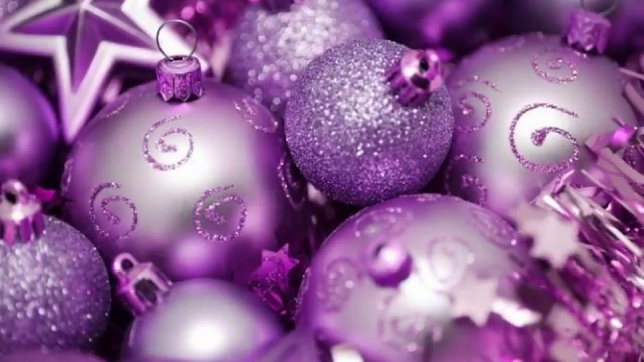 purple christmas tree decorations - Purple Christmas Decorations
