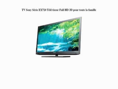 Sony - KDL40EX720 - TV LCD 40