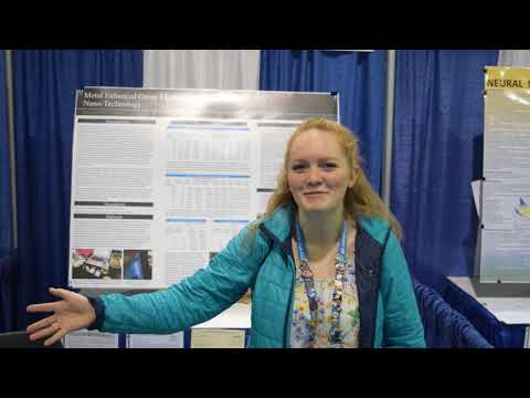 Lexie from Ferris High School at Intel International Science and Engineering Fair!