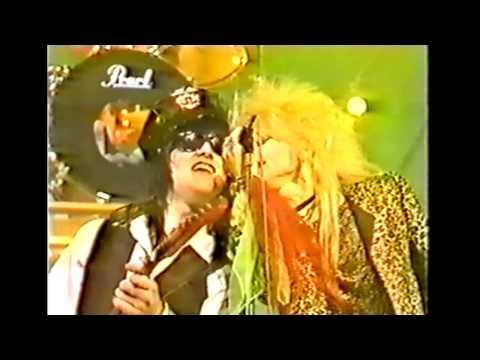 Hanoi Rocks - Up Around The Bend Japan TV-show 1984