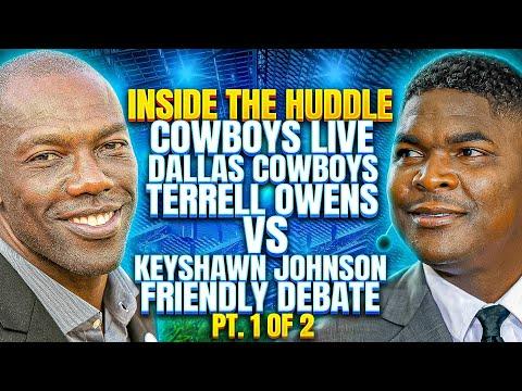 Pt. 1 of 2 Terrell Owen vs Keyshawn Johnson (Original Video)